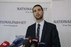 NOWA NATIONAPARTY konferencja prasowa Obrazy Stock