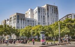 Nowa nowożytna architektura w Portowym Vell okręgu Obrazy Royalty Free