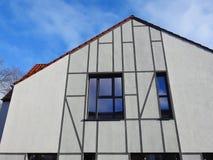 Nowa piękna dom ściana, Lithuania Obraz Royalty Free