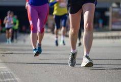 Nowa poshta Kyiv połówki maraton Zdjęcia Royalty Free