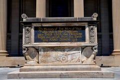 Nowa przystań, CT: Uniwersytet Yale pierwszej wojny światowa pomnik Zdjęcia Stock