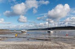 Nowa Quay plaża, schronienie i zdjęcie royalty free
