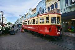 Nowa Regent ulica w Christchurch, Nowa Zelandia - Fotografia Royalty Free