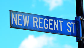Nowa Regent ulica w Christchurch, Nowa Zelandia - Fotografia Stock