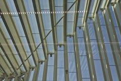 Nowa Reggio Emilia poręcza sposobu stacja Obrazy Stock