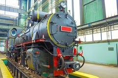Nowa retro lokomotywa Fotografia Royalty Free