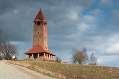 Nowa Ruda, torre de observación Fotografía de archivo
