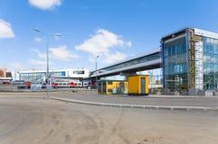 Nowa stacja Moskwa centrali pierścionek Zdjęcia Stock