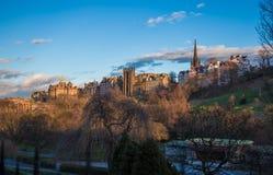 Nowa szkoła wyższa na kopu Edynburg Zdjęcie Royalty Free
