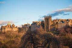 Nowa szkoła wyższa na kopu Edynburg Obraz Royalty Free