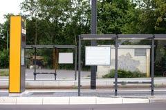 Nowa tramwajowa przerwa Zdjęcie Royalty Free