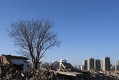 Nowa wiejska sceneria 02 w Tianjin Fotografia Royalty Free