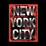 Nowa York Brooklyn typografii t koszulowa wektorowa ilustracja ilustracja wektor