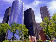 Nowa York miasta budynków biurowych szkła powierzchowność Obraz Stock