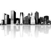 Nowa York miasta linia horyzontu Obraz Royalty Free