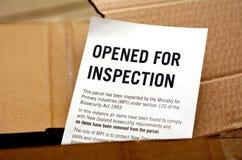 Nowa Zelandia Customs i Rabatowa ochrona Fotografia Stock