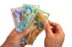Nowa Zelandia dolara banknoty Zdjęcia Royalty Free