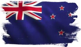 Nowa Zelandia flaga ilustracja wektor