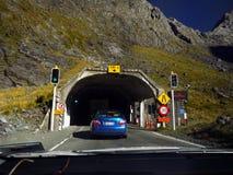 Nowa Zelandia, homeru tunel Zdjęcia Royalty Free