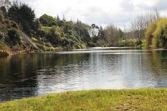 Nowa Zelandia jezioro Fotografia Stock