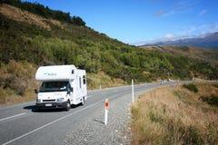 Nowa Zelandia motorhome Fotografia Stock