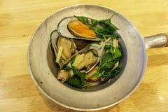 Nowa Zelandia mussels zdjęcie stock