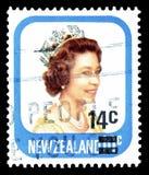 Nowa Zelandia na znaczkach pocztowych obrazy royalty free