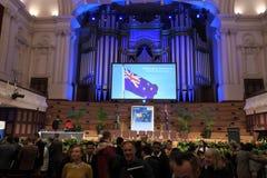 Nowa Zelandia obywatelstwa ceremonia w Auckland Nowa Zelandia Zdjęcia Royalty Free