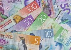 Nowa Zelandia pieniądze zdjęcie royalty free