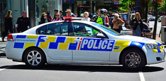 Nowa Zelandia polici radiowóz Zdjęcie Royalty Free