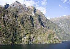 Nowa Zelandia ` s Fiordland parka góry Zdjęcia Royalty Free