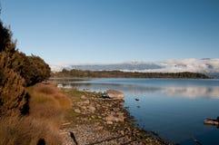 Nowa Zelandia Sceniczny krajobraz Fotografia Royalty Free