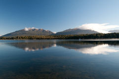 Nowa Zelandia Sceniczny krajobraz Zdjęcia Royalty Free