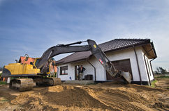 Nowa ziemia dla domu ogródu Zdjęcia Stock