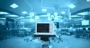 Nowatorska technologia w nowożytnej sala operacyjnej Zdjęcia Royalty Free