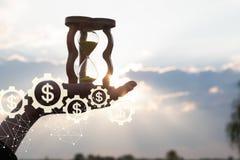 Nowatorski mechanizm pieniężny rozwój obrazy stock