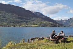 Noway, Sognefjord Image libre de droits