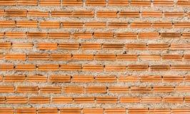 Nowe ścienne czerwone cegły fotografia royalty free