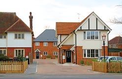 Nowe budownictwo mieszkaniowe rynek Obrazy Royalty Free