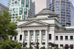 nowe budynki stary Vancouver zdjęcia royalty free