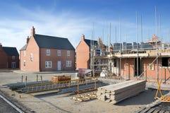 nowe domy Obrazy Royalty Free