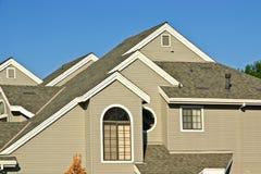 nowe domy komunalne Zdjęcia Royalty Free