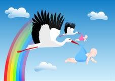 nowe dziecko ilustracja wektor