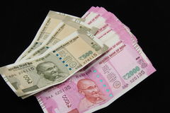 Nowe Indiańskie walut notatki Obraz Royalty Free