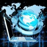 nowe internet technologie royalty ilustracja