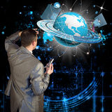 nowe internet technologie Obrazy Stock