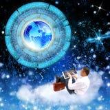 Nowe Internetowe technologie royalty ilustracja