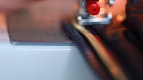 Nowe kędziorka suwaczka naprawy kurtki na szwalnej maszynie zbiory