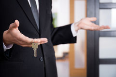 nowe klucze do domu Zdjęcie Stock