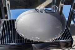Nowe metal niecki jako cookware Zdjęcie Royalty Free